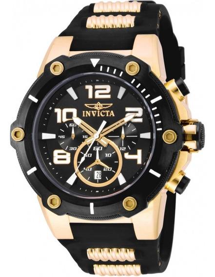 Relógio Invicta 17200 Masculino Banhado Ouro 18k Original