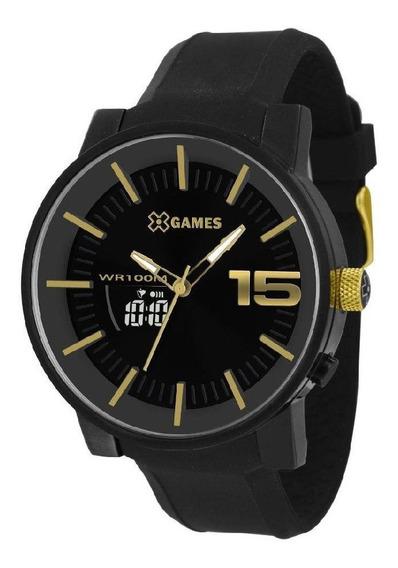 Relógio Xgames Xmspa022-p2px - Preto