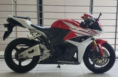 Motocicleta Honda Cbr 600rr 2012 Vermelha