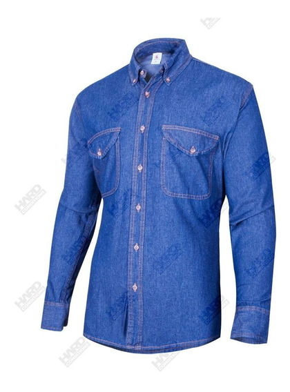 Camisa Clasica Jeans Trabajo