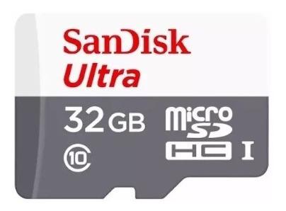Kit 5x Cartão De Memória Ultra 16gb Sandisk Classe 10 C/nf