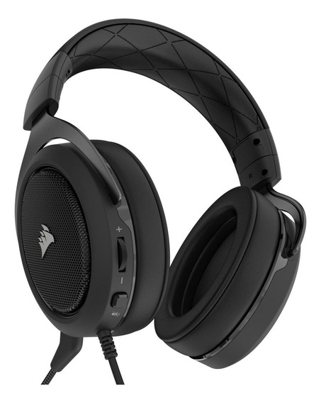 Fone de ouvido gamer Corsair HS50 carbon