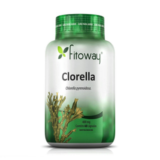 Clorella Fitoway 400mg - 60 Cápsulas