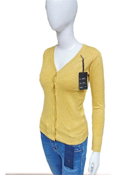 Sweater Con Botón Para Dama, Cómodo Ligero Para Toda Ocasión