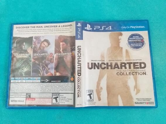 Vendo Uncharted Collection (3 Juegos En 1) Ps4