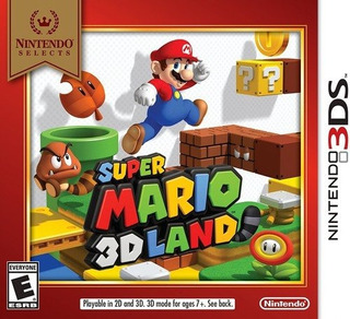 Nintendo Selecciona Super Mario 3d Land 3ds