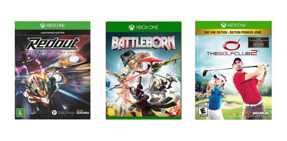 Kit 3 Jogos Infantil Xbox One Lacrados E Originais Crianças