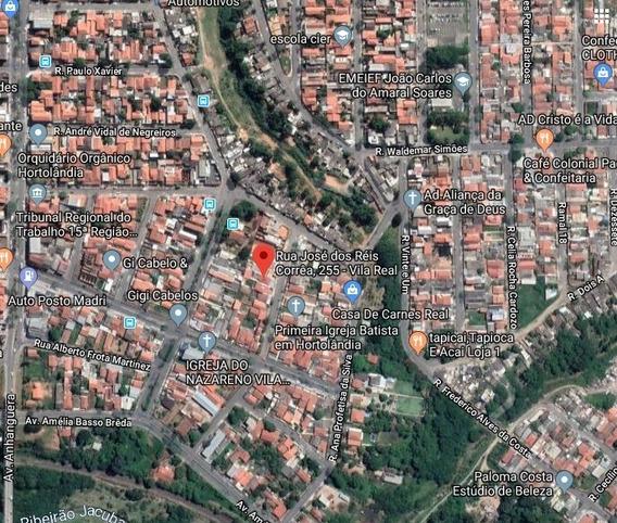 Casa Em Vila Real Continuacao (hortolandia), Sumare/sp De 383m² À Venda Por R$ 312.000,00 - Ca377401