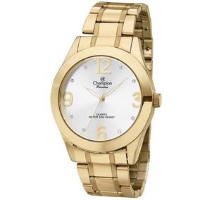 Relógio Champion Feminino Ch24268h Dourado