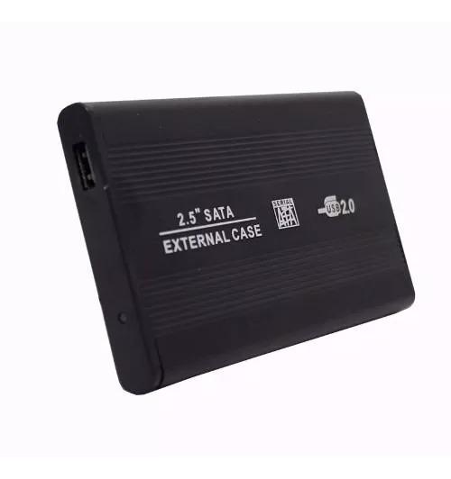 Hd Externo Portátil - 500 Gb 2.5 Portátil Novo Slim