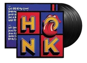 The Rolling Stones Honk Vinilo Triple 3 Lp Nuevo En Stock