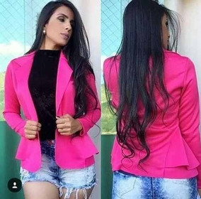 e9c0ca2a8a Blazer Feminino Pink - Blazer para Feminino no Mercado Livre Brasil