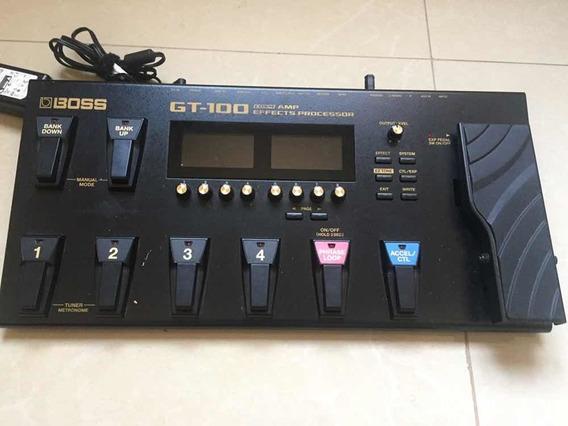 Pedalear Boss Gt-100