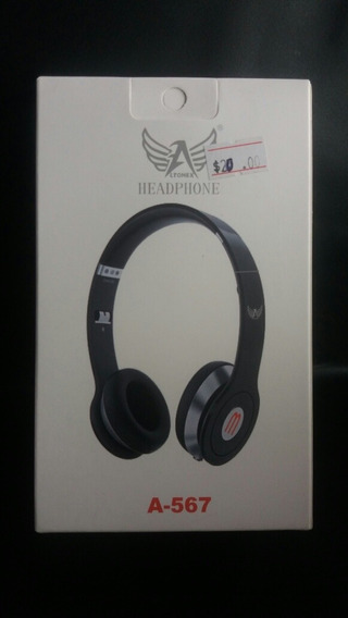 Fone De Ouvido Com Fio (headphone A-567)