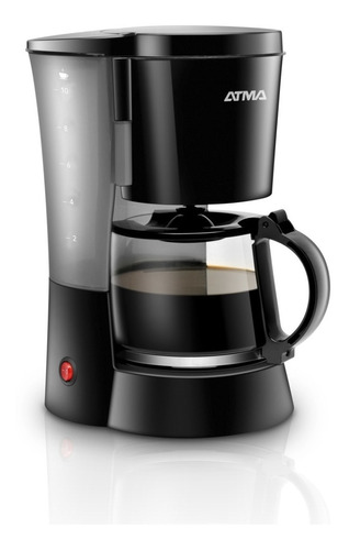 Cafetera Atma 1.25 Lts Negra