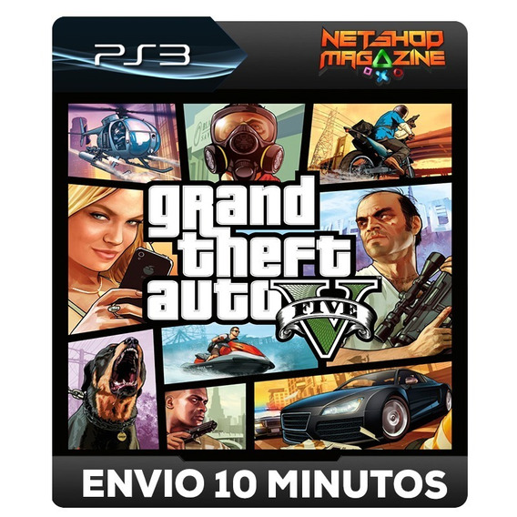 Gta 5 - Grand Thef Auto V - Psn Ps3 - Oferta Pronta Entrega