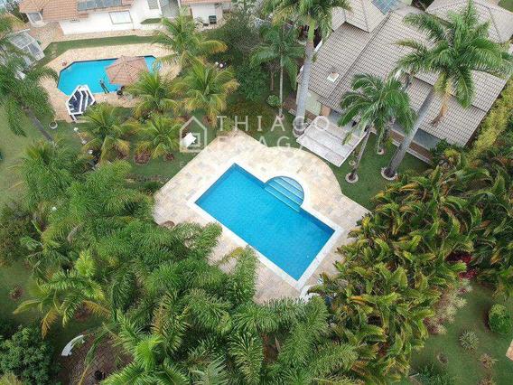 Casa De Condomínio Com 5 Dorms, Parque Village Castelo, Itu - R$ 2.000.000,00, 409m² - Codigo: 928 - V928