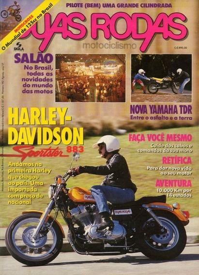 Duas Rodas N°192 Harley Davidson Sportster 883 Yamaha Tdr