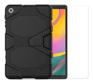 Funda Uso Rudo Galaxy Tab A 10.1 Sm-t510 Cristal Templado