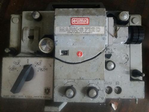 Projetor Eumig Mark S712. Raridade!