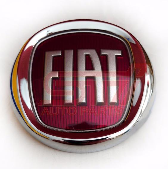 Emblema Sigla Fiat Grade Radiador Punto 2013 - 2016 Original