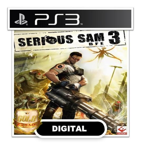Serious Sam 3 Bfe Ps3 Psn Midia Digital Envio Rapido