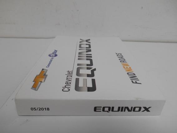 Manual Da Equinox 2018 Original Gm 98550912 Novo