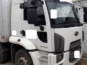Ford Cargo 2429 Leito Bitruck Bau 10,5m - 2013 - Quarto Eixo