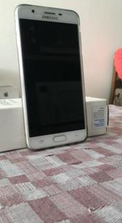 Samsung J7 Prime 32gb Dourado Todo Original Muito Conservado