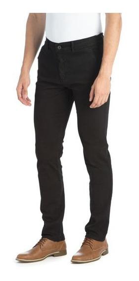 Pantalon Chupin Hombre Elastizado Color Be Yourself Tiendas