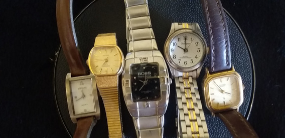 Lote 5 Relógios De Pulso Feminino