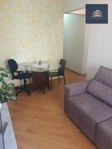 Apartamento No Condomínio San Remo, 1 Dormitórios, 1 Vaga, Aceita Permuta Suprema. - Ap0881