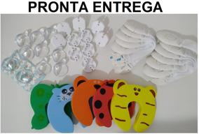 Kit Com 35 Peças De Segurança Para Bebê Trava Tomada Quina