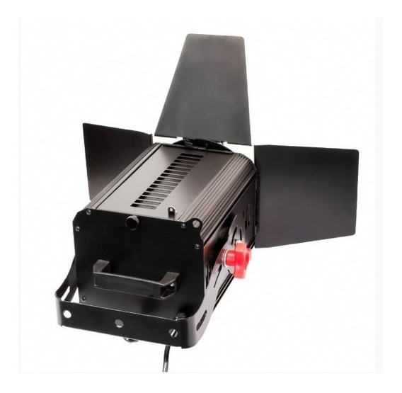 Refletor Iluminador Fresnel 1000w Linepro + 2 Lampadas 1000w