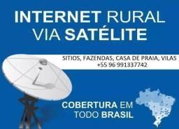 Imagem 1 de 6 de Internet Via Satélite E Energia Solar Em Área Rural