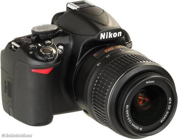 Câmera Nikon D3100 + Bolsa + Cartão Sdhc - Com 8399 Cliques
