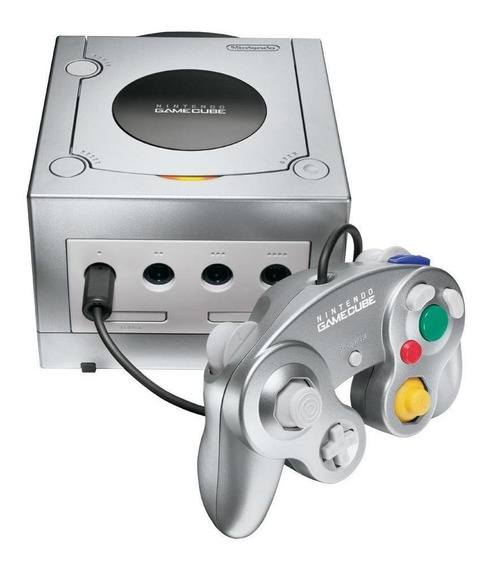 Nintendo GameCube Limited Edition platinum