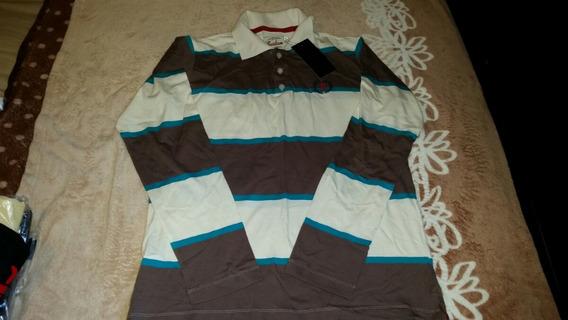 Camisa Manga Longa - Gola Polo - Presidium - Original!