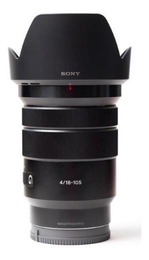 Lente Sony Aps-c E Pz 18-105mm F/4 G Oss Power Zoom Nova...