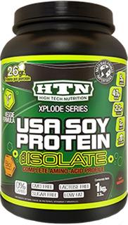 Usa Soy Protein 1 Kg Htn Isolate Apta Vegana