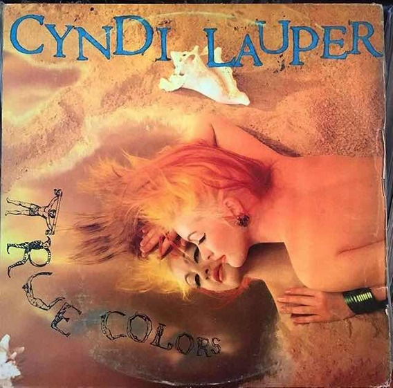 Lp Cyndi Lauper True Collors