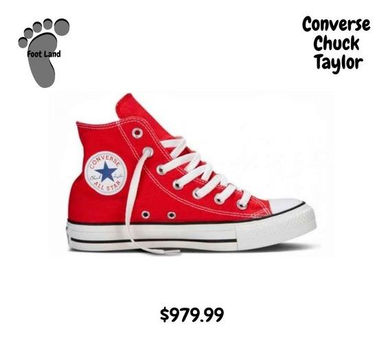 Converse Bota Roja