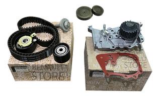 Kit Distribucion Renault Duster 1.6 16v K4m Bomba + Tapones