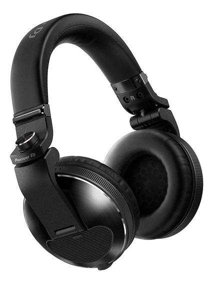 Fone de ouvido Pioneer HDJ-X10 preto