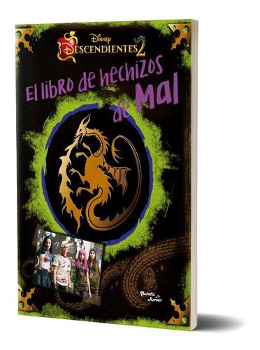 Imagen 1 de 5 de Descendientes. El Libro De Hechizos De Mal Disney