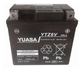 Bateria Yuasa Ytz6 = Ytx5l Bs Gel Cg New Titan 150 Sti Full