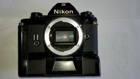Nikon Em Series C/ Avançador Automático De Filme Sem Lentes