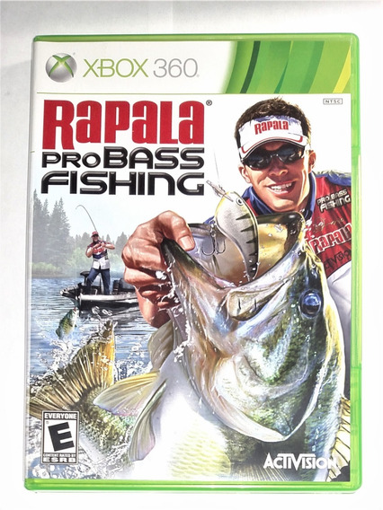 Rapala Pro Bass Fishing Original Completo Xbox 360 Cr $15