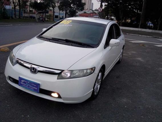 Honda New Civic 2008 Exs Flex Sem Entrada