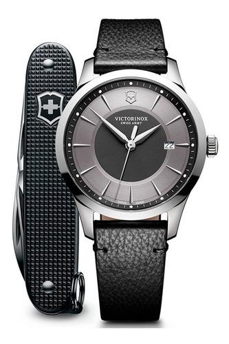 Imagen 1 de 4 de Reloj Victorinox Alliance 241804.1 Con Navaja Suiza Pioneer